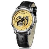 Cuir véritable montre automatique (8123g)