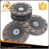 세라믹 노예 컵 바퀴를 가는 7 인치 구체적인 가장자리