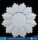 Specchio d'argento a doppio foglio decorativo di Franeless/specchio specchio di periodo/vinile di sicurezza