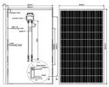 Poli comitato solare 250W per sul sistema di energia solare di griglia