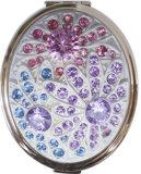 De Compacte Spiegel van het Vuurwerk van het kristal (t70pb369-2)