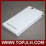 소니 Xperia T2를 위한 광택이 없고는 광택 있는 주문 Printe 승화 전화 상자