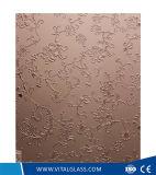 L'impression de l'écran 4-6 mm/gravure enduits de peinture Art Glass