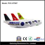 Disco istantaneo del USB del PVC dell'aeroplano (PVC-OT007)