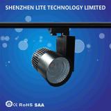 PFEILER 30W 2/3/4 Drähte kommerzielles schwarzes Spur-Licht der Farben-Beleuchtung-Vorrichtungs-Qualitäts-LED