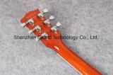 Do jazz alaranjado da parte superior do bordo do tigre da qualidade 335 guitarra elétrica (TJ-216)