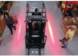 10-110V Lichten van de Veiligheid van de Waarschuwing van de LEIDENE Gevarenzone van de Vorkheftruck de Rode