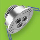 3W LEDの高い発電Downlight (RAY-08W3)