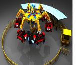 Viaje de diversiones de buena calidad Walking Robot para la venta de juegos