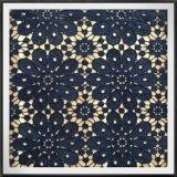 Laço floral da guipura da tela poli do laço do bordado