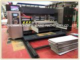 Автоматическое Corrugated печатание цвета 4 прорезая и умирает автомат для резки