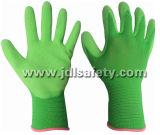 Цветастые Nylon перчатки работы при покрынный латекс (LB3016F) (ОДОБРЕННЫЙ CE)
