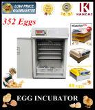 Incubateur solaire d'oeufs de petit de Digitals de taux de hachure de 98% incubateur de poulet pour 352 oeufs
