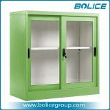 Классический дизайн офиса стекла боковой сдвижной двери стальной шкаф