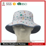 Chapéu colorido da balde de algodão / boné Fishman