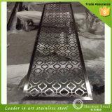 201 het 304 Geperforeerde Blad van het Roestvrij staal voor de Decoratie van het Plafond