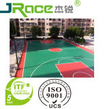 Qualität Sports Bodenbelag-Oberfläche für Basketball/Tennis/Volleyball/Badminton/Fustal Gericht