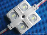 12V IP65 3 lasca o módulo do diodo emissor de luz de 5730 injeções com caso diferente da cor