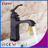 Fyeer New European Style Black Bathroom Basin Faucet