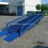 Hydraulisches Laden und Aus dem Programm nehmen der Behälter-Dock-Rampe