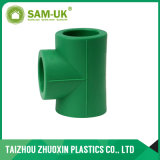 T del filetto maschio dell'accessorio per tubi di PPR con verde, bianco