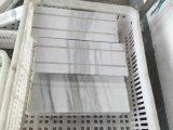 Het goedkope Witte Marmeren Afgietsel van de Voering van het Potlood van de Voeringen van de Grens Marmeren