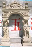 حجارة رخاميّة صوان باب قوس لأنّ باب [سورّووند] مدخل ([در035])
