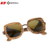 100% Handcraft les lunettes de soleil en bois de lentille enduite