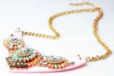 Halsband van de Steen van de Hars van de Stijl van Shourouk van het Ontwerp van de Juwelen van de manier de Nieuwe (XJW13238)