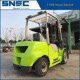 Diesel van Snsc Vorkheftruck 3 Ton met de Motor van Japan Isuzu