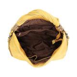 Grande sacchetto del Hobo delle signore gialle intelligenti di modo (MBNO042012)