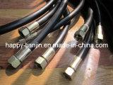 Montagem lisa mangueira de alta pressão / conjuntos de mangueiras hidráulicas