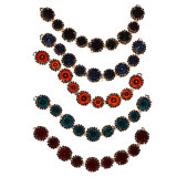 Fashion Brooch avec collier de perles 0042