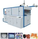 Produtos plásticos descartáveis que fazem a máquina para a caixa da caixa da bacia do copo e o recipiente do empacotamento plástico