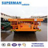 40FT 3 Semi Aanhangwagen van de Container van de As Flatbed voor het Gebruik van de Container