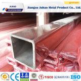 Plaza Rectangulard sus tubos de acero inoxidable (304 316)