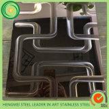 Großhandelslaser-Edelstahl-Blatt china-3D für Innen- und Außendekoration