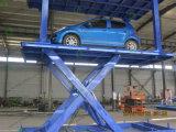 El CE Scissor el tipo elevación del coche para estacionar con la cubierta doble