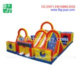 Jeux gonflables Tunnel Obstacle Course, Obstacle Course Bouncer for Kids