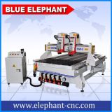 Ele1325 4*8FT Multi-Headed Router CNC máquina fabricada en China