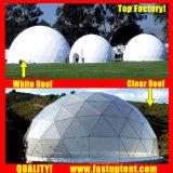 Populaires diamètre Transparent 8M Dôme géodésique tente pour partie