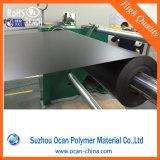 Opaque PVC rigide épaisse 0,3mm feuille noir de rouleau