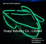 Geleuchtete Neon beleuchtete EL-Gläser