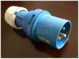 16A/32A 2P+E IP55 industrieller Stecker (SFN-013)
