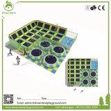 Vergnügungspark-lustige Spiel-Handelsinnentrampoline mit galvanisierten Federn