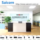 Interruptor do Ethernet de Saicom (SCSW-10082M) usado na rede da fibra