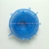 Silikon-Cup-Deckel für trinkende Gläser