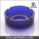 """"""" portacenere di vetro rotondo del nero scuro 4 (GB2031)"""