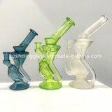 Handrohr-Form-Mund-Glas-rauchende Wasser-Rohr-Ölplattformen