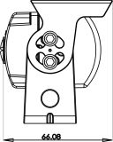 Landwirtschaftliche Maschinerie-Zubehör für backupkamera